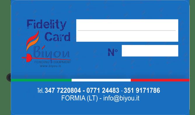 Biyou club card