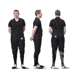 pantaloni 800N scherma storica