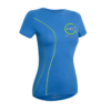t-shirt ag+ donna blu fronte