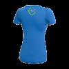t-shirt ag+ donna blu retro