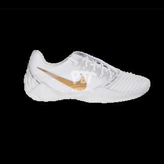 scarpe per scherma nike ballestra 2 white gold lato